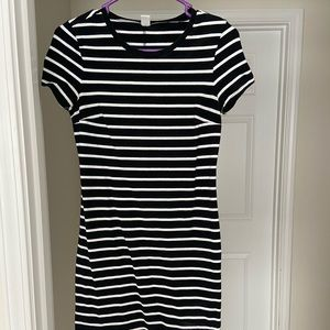 Old Navy Striped T-Shirt Dress